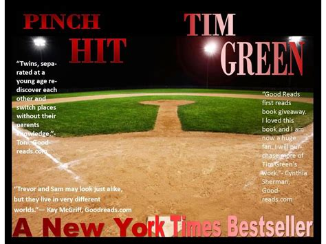 don t pinch books pinch hit by tim green
