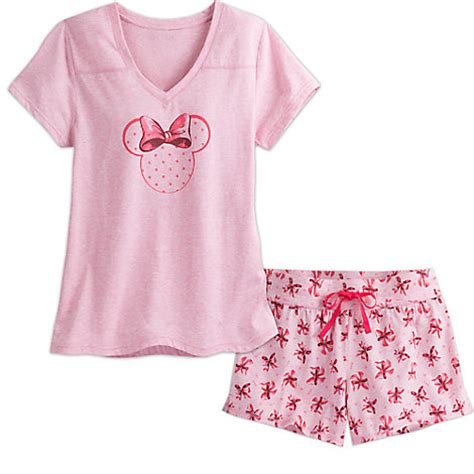 Mickey Pink Set minnie mouse sleep set for pink disney store