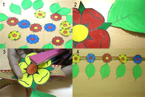 How To Make Toran With Paper - robinage arts and crafts make your own toran