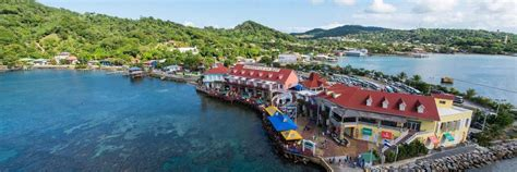 roatan bay islands honduras cruise roatan cruise terminal information for of