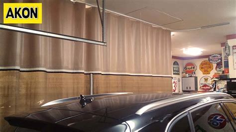 garage curtain walls garage divider curtains photo gallery akon curtain