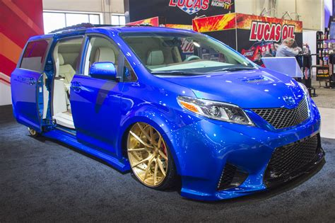 toyota custom cars toyota shows and at sema 2016