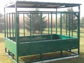 Farm Feeders Farm Built Hay Feeders Covered Hay Feeders Feeders