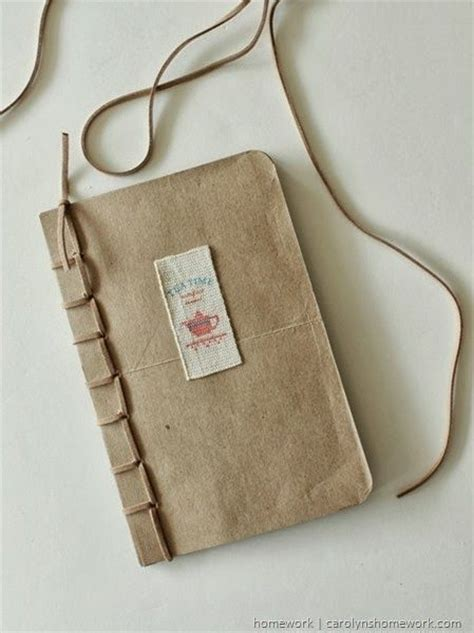 Handmade Book Bags - inkling recycled grocery bag book fiskars tools