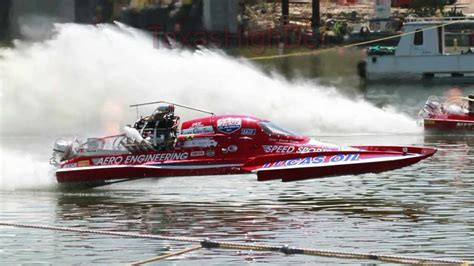 drag boat racing start drag boat catches fire in race quot lucas oil racing quot 2011
