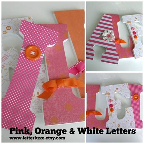 Decorated Wooden Letters For Nursery 17 Best Ideas About Decorated Wooden Letters On Pinterest Wood Letters Decorated Decorated