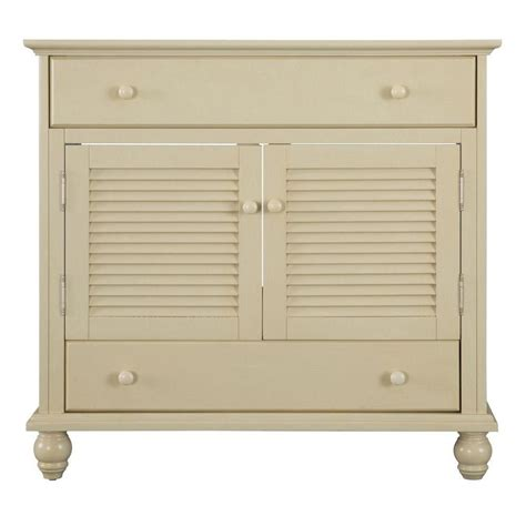 Cottage Vanity Cabinet by Foremost International Cottage 36 Inch Vanity Cabinet In Antique White The Home Depot Canada