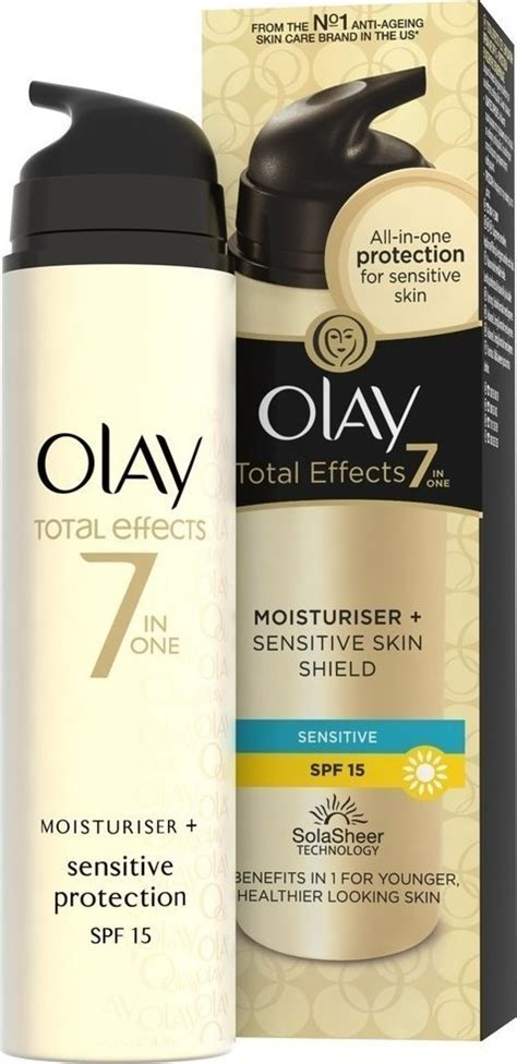 Olay Total Effect 50 Gr olay total effect sensitive protection moisturiser spf15