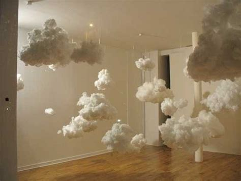 How To Make 3d Clouds Out Of Paper - creative winter decorating brings handmade clouds into homes