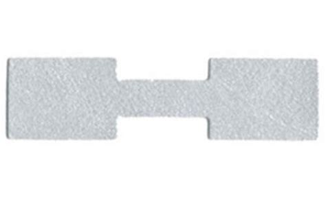 Tyrek Square 1000 silver tyvek square end jewelry labeling price tags 1 3 8