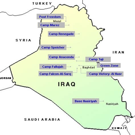 map usa bases map of us bases around iraq the middle east and iran us