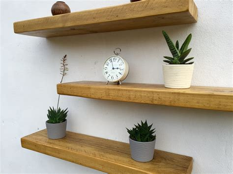 Fitting A Floating Shelf by Strong Floating Wall Shelves