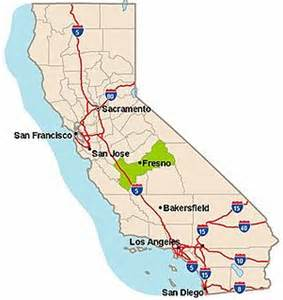 map of california fresno fresno county california dirtopia the road