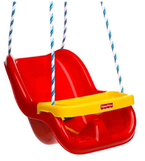 Fisher Price Infant To Toddler Swing In Red Free Shipping