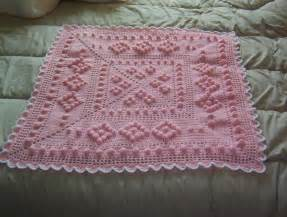 modele crochet couverture bebe