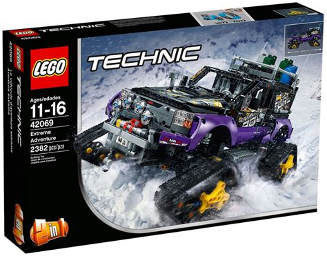 Summer Set 2in1 I4 lego technic 42069 pas cher le v 233 hicule d aventure extr 234 me