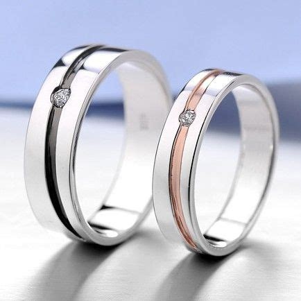 zanele muholi promise and wedding gifts matching engraved promise ring bands for him and her