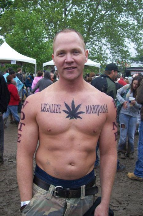 smoke weed tattoo fail marijuana tattoos 46 pics