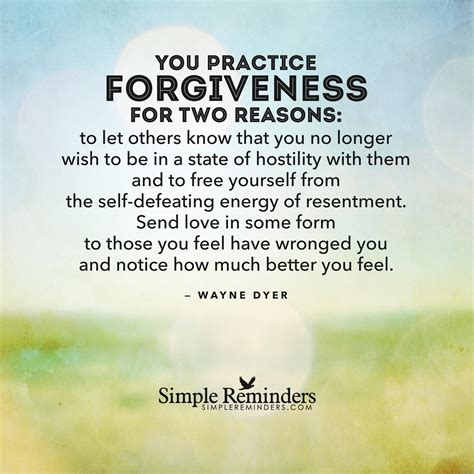 Reasons To Take The New 2 by Forgiveness By Wayne Dyer Quotes Quotesgram