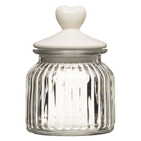 b m glass jar with lid 291243