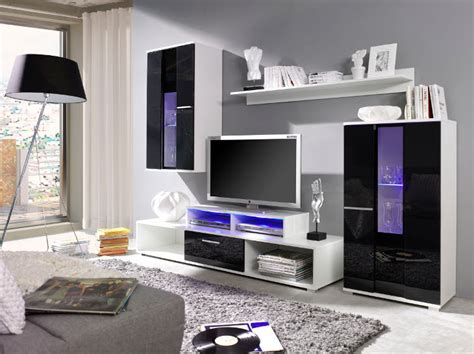 Black High Gloss Living Room Furniture by Living Room Furniture Set White Black High Gloss