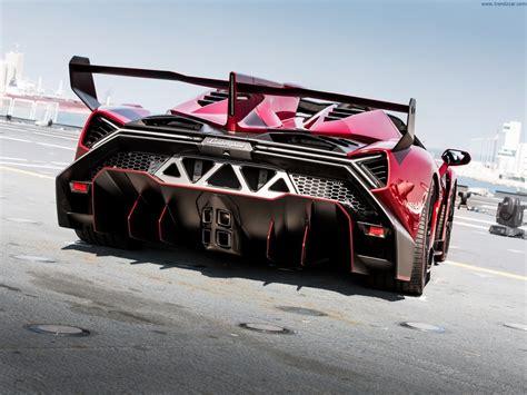 Lamborghini Veneno Rear 2014 Lamborghini Veneno Roadster Rear Angle 4