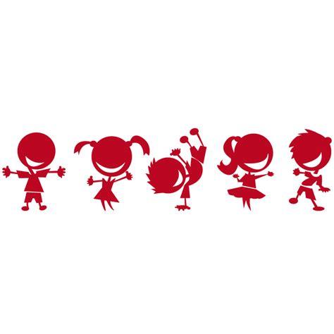 imagenes de niños jugando en navidad vinilo decorativo infantil ni 241 os jugando paredes guarder 237 a