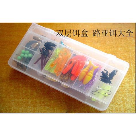Umpan Pancing umpan pancing set 100 pcs multi color jakartanotebook