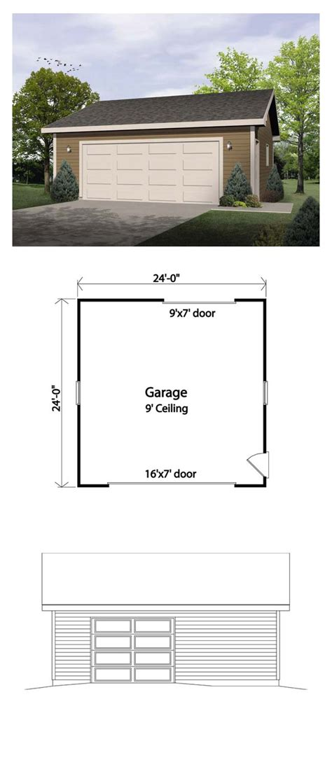 garage design plans 25 best ideas about detached garage on pinterest