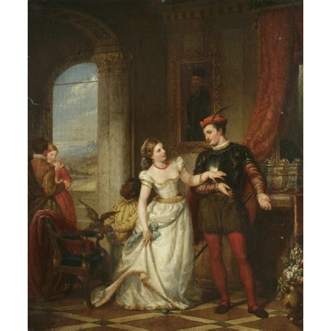 Themes In Merchant Of Venice by New York Historical Society Portia And Bassanio From The