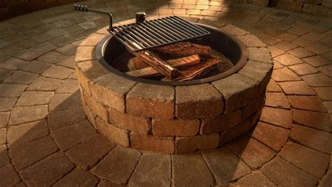 Compact Fire Ring Kit Necessories Kits For Outdoor Living Firepit Kits