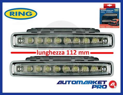 lade a led per auto omologate kit 16 led diurne per auto omologate 12 volt dsl luce