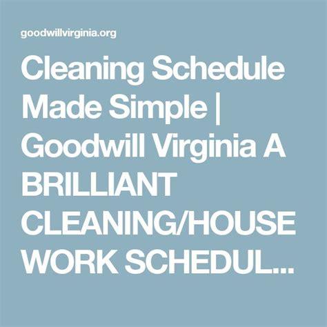 best 25 housework schedule ideas on household