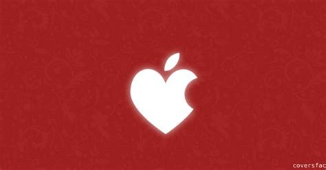 apple valentine wallpaper red apple cut valentine day timeline covers full hd wall