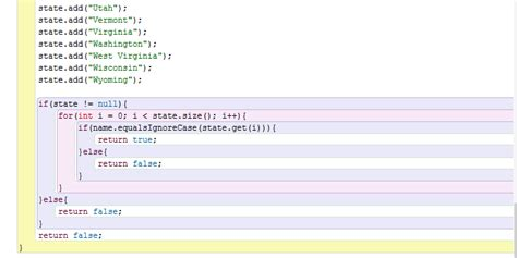 pattern java ignorecase java for each loop and boolean help please programming