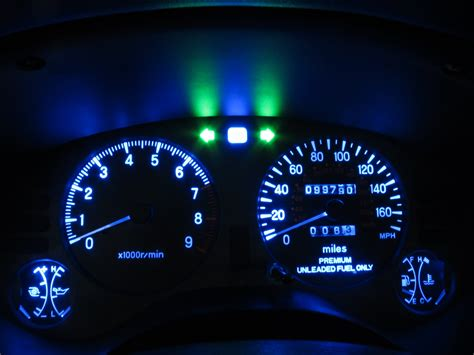 2g Eclipse Interior by 2g Eclipse Gsx Interior Instrument Cluster Lights Led