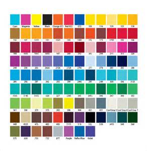 chart color 15 word pantone color chart templates free