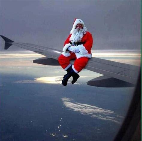 christmas airplane jokes santa claus airplane aviation santa and