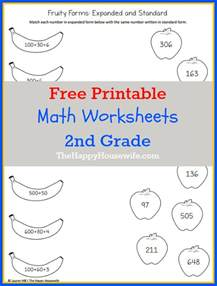pages for second graders math worksheets for 2nd grade free printables the happy