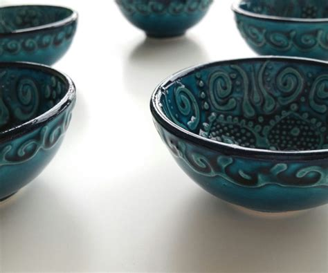 Ceramic Stool Canada by Ceramic Ottoman Green Blue Ceramic Clay Twist Knot