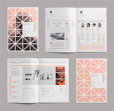 machine design proposal 30 best picks of brochure design ideas template exles