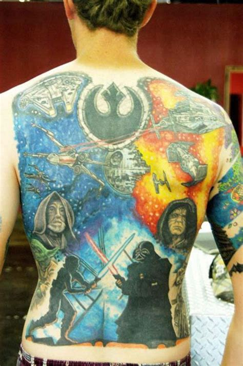 best star wars tattoos the greatest wars tattoos in the galaxy