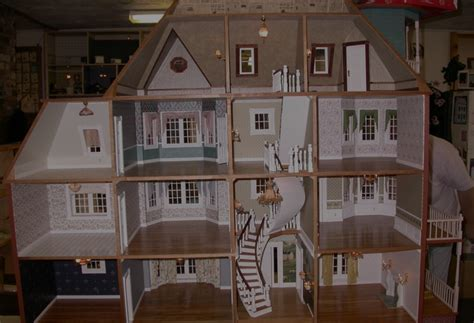 large wooden doll house large dollhouse kits wooden global