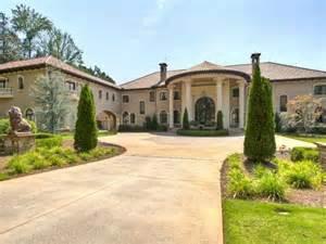 home atlanta 30 000 square foot mediterranean atlanta mega mansion hits