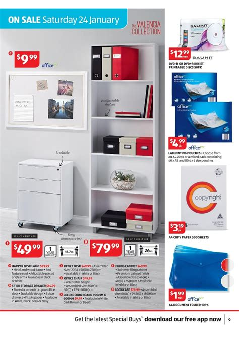 Aldi Filing Cabinet Aldi Filing Cabinet Aldi Catalogue January General Products Page 9 Aldi Office Sale Catalogue