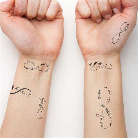 infinity tattoo temporary infinity symbol set temporary tattoo from tattify epic