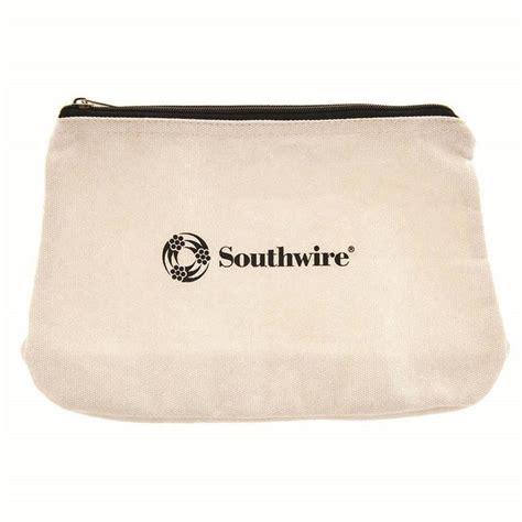 canvas zipper tool bag shop southwire canvas zippered closed tool bag at lowes com