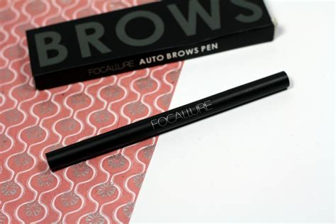 Focallure Auto Brows Pencil beautybigbang review cover all powder liquid