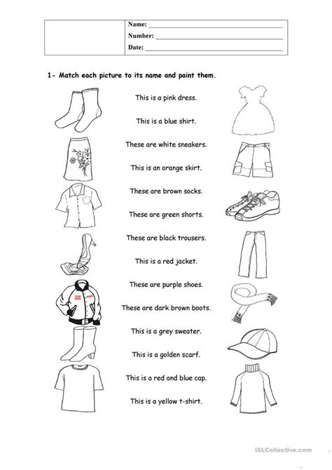 clothes   Grammatica inglese, Inglese, Lingua inglese