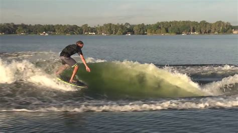 wake boat setup malibu boats how to build the perfect wakesurfing wave in